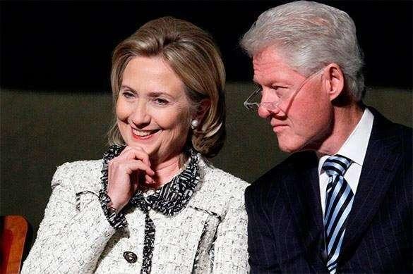 Хилари и Билл Клинтоны