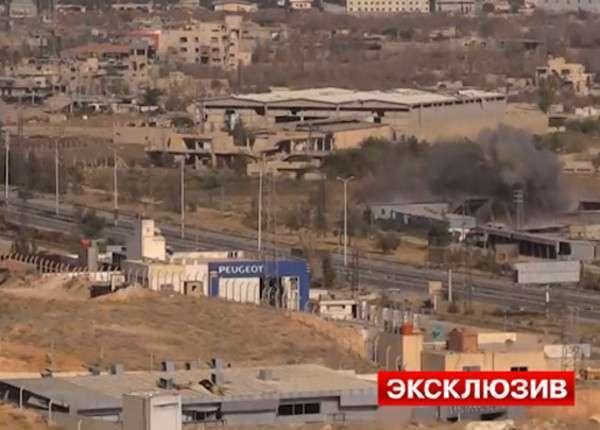 Армия Сирии готовится к полномасштабной наземной операции под Дамаском