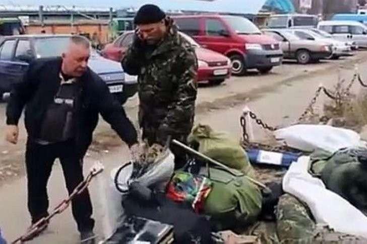 Тупые укроСМИ пытаются превратить украинских мародёров в российских