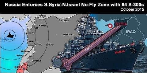 Крейсер «Москва» взял под бесполётный зонтик большую часть Сирии и