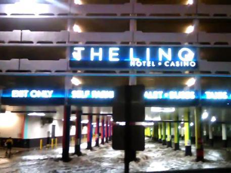 Элитные казино Лас-Вегаса затопило в результате наводнения