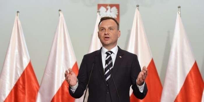Польский президент обещает остановить «Северный поток-2»