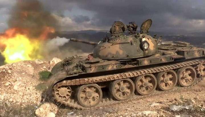 Наступательная операция сирийской армии. Эксклюзивный репортаж Евгения Поддубного