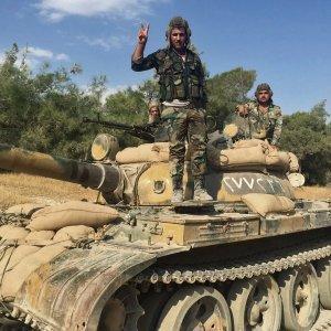 Армия Сирии за сутки освободила 8 населённых пунктов