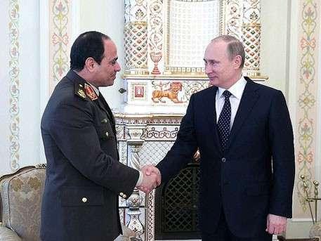 Владимир Путин обсудил «сирийскую операцию» с президентом Египта