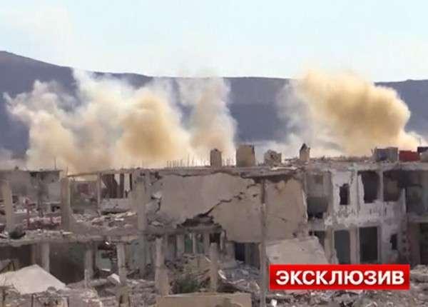 Сирийская армия дважды отбила атаки боевиков на аэродром под Дамаском