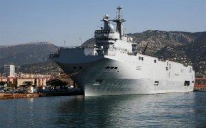 Египет подписал соглашение о покупке у Франции двух «Мистралей»