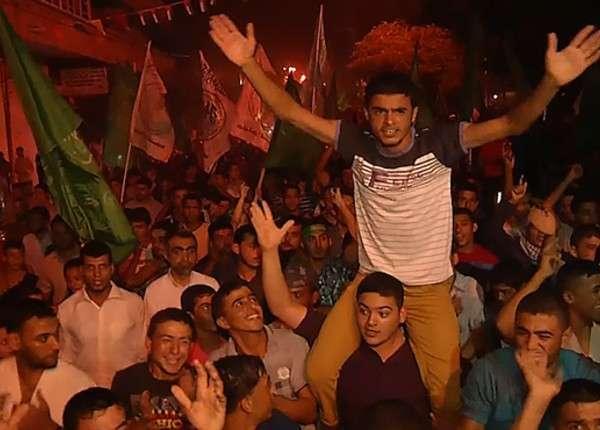 В Газе прошла масштабная демонстрация в поддержку ХАМАС