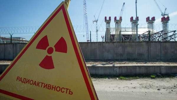 Зона отчуждения на Чернобыльской АЭС