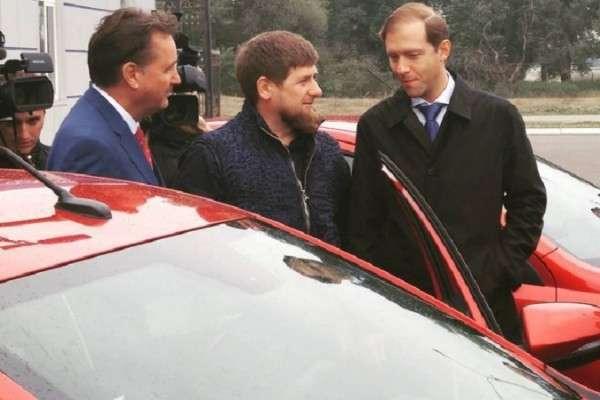 Кадыров доволен новой Lada Vesta