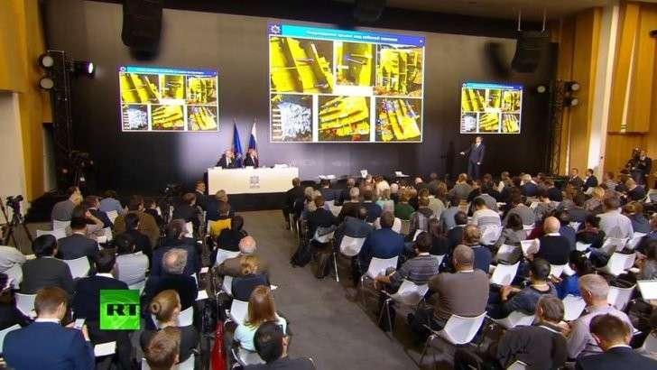 Пресс-конференция концерна «Алмаз-Антей» по причинам крушения Боинг MH17