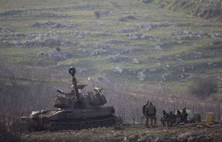 Израильские террористы атаковали позиции сирийской армии
