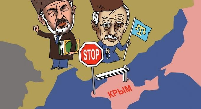 Старый плут Джемилев, «блокада Крыма» и дурачки-правосеки