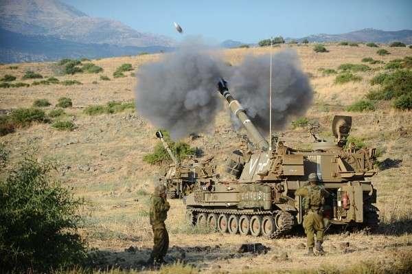 Израильские террористы нанесли удары по складам сирийской правительственной армии
