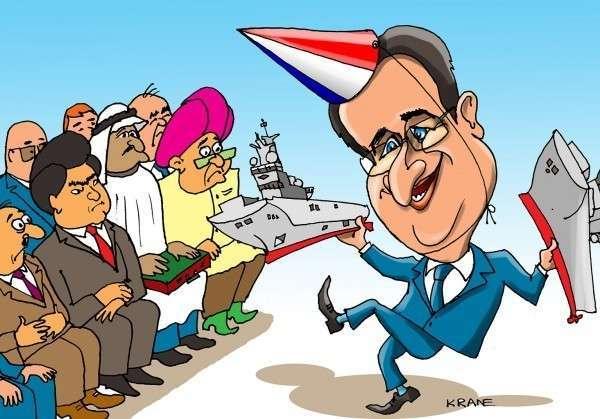 Даже не смешно: Франция допускает возможность продажи России новых кораблей