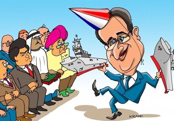 СМИ: Франсуа Олланд снова готов продавать корабли России