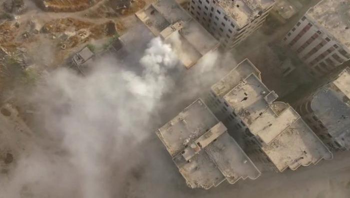 Наступление на Джобар. Репортаж Евгения Поддубного из Сирии