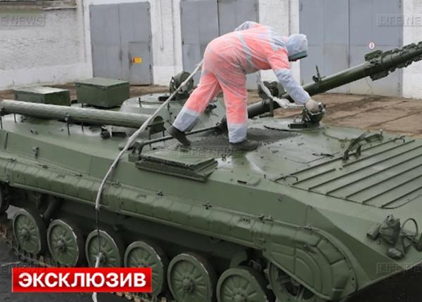 Российские танки станут невидимы для радаров благодаря новой краске