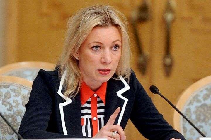 Мария Захарова удивлена реакцией США на обстрел посольства РФ в Дамаске