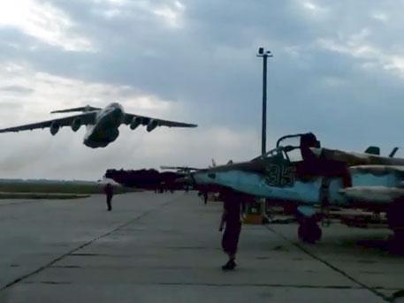 Украинский Ил-76 едва не превратил в братскую могилу стоянку Су-25