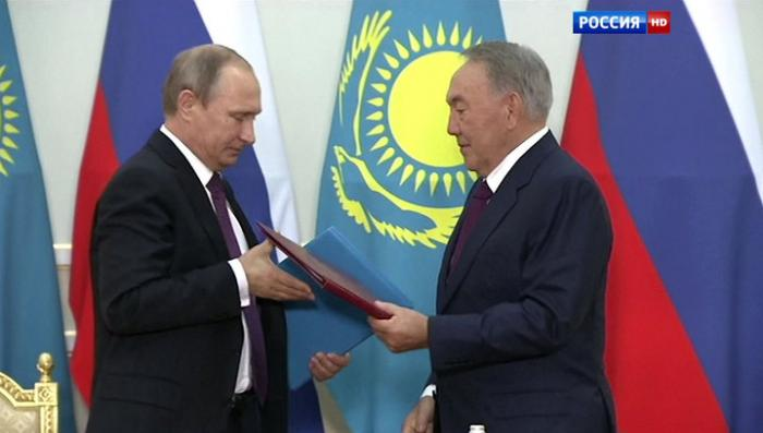 Москва и Астана поделили север Каспия