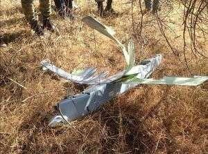 Турки сбили собственный беспилотник