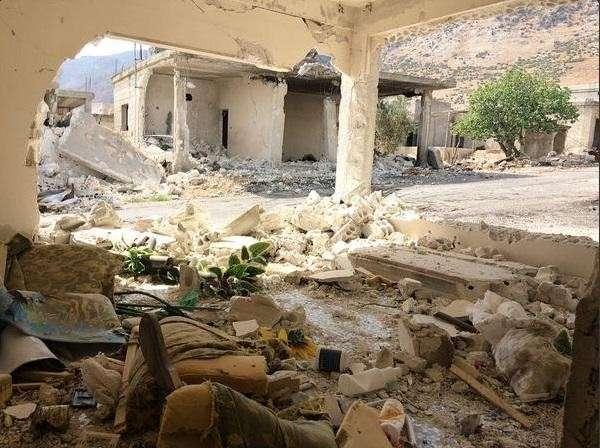 Фото и видео из городов, освобождённых сирийской армией при поддержке ВКС РФ