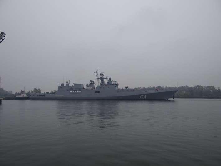Сторожевой корабль «Адмирал Эссен» в Балтийске