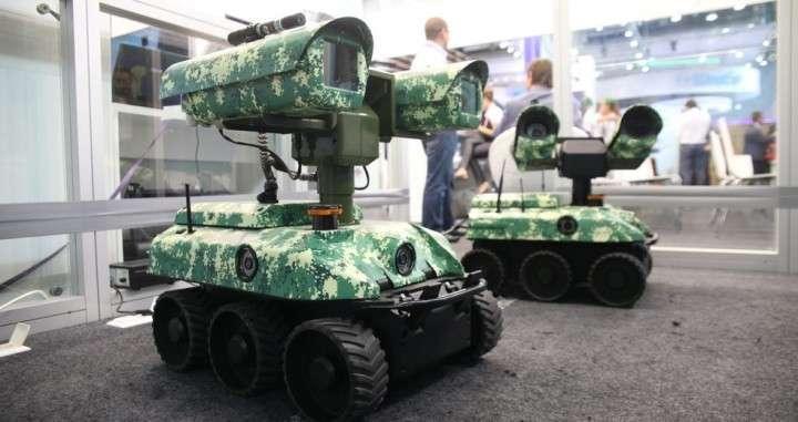 Российская армия примет на вооружение автономных боевых роботов