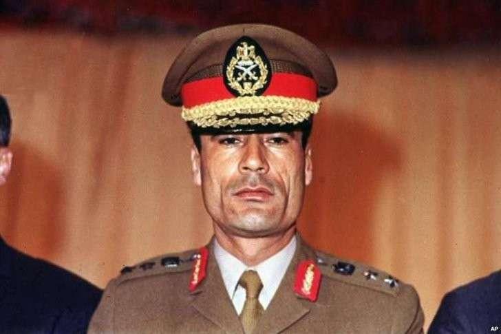 Муаммар Каддафи. Четыре года со дня смерти