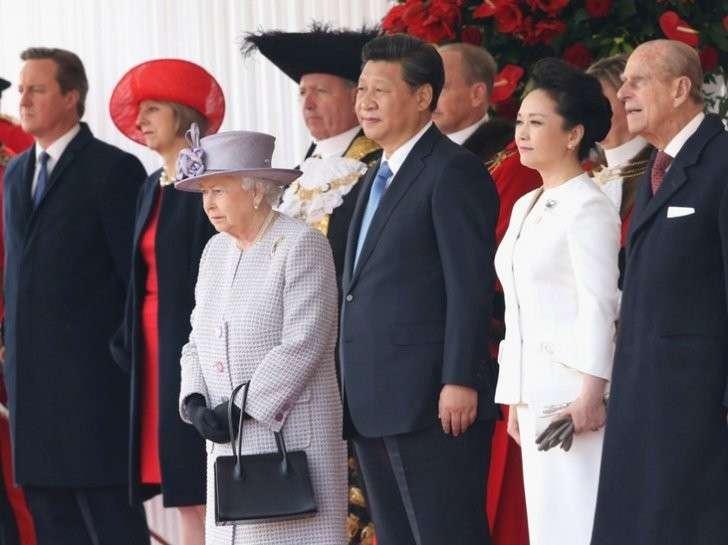 Ошеломляющий приём китайского лидера Си Цзиньпина в Лондоне
