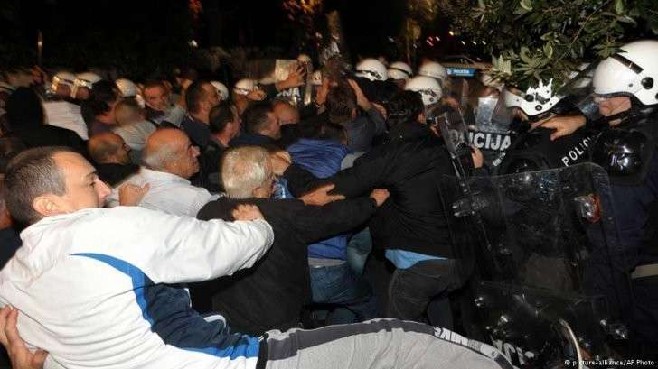 Черногория: Майдан наоборот