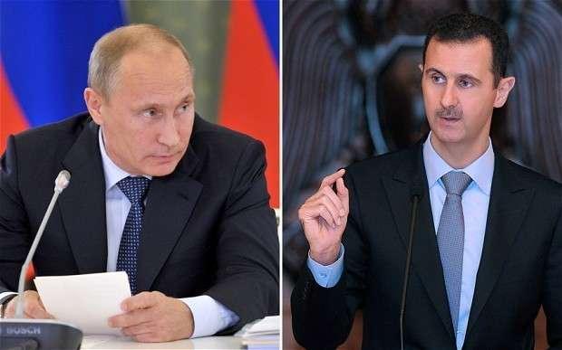 Зачем прилетал Асад? Неужели просто отчитаться?