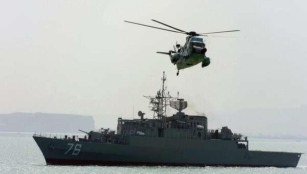 Корабль ВМС Ирана. Архивное фото