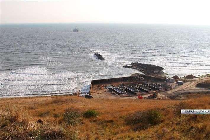 Энергомост в Крым ведут по дну Керченского пролива
