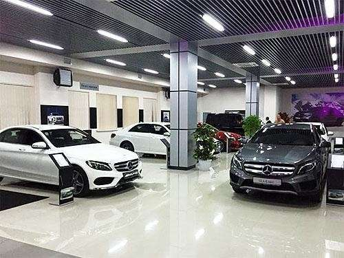 Deutsche Zrada: Mercedes-Benz открыл новый салон в Крыму