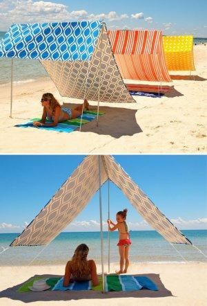 Нехитрые изобретения, которые будут очень кстати на пляже