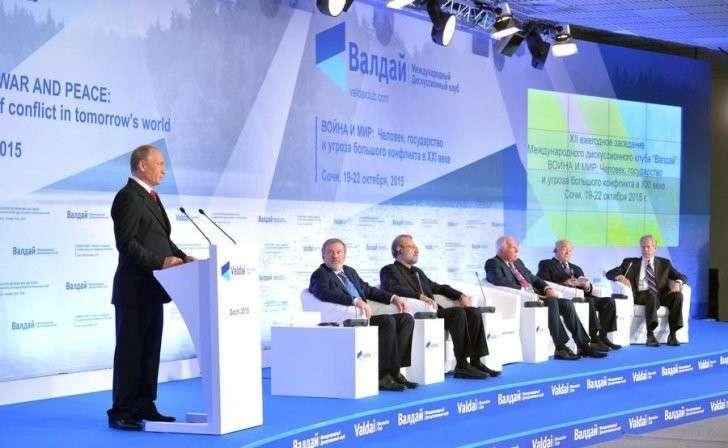 Владимир Путин выступил на пленарной сессии Международного дискуссионного клуба «Валдай»