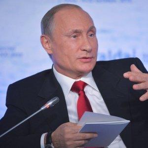 Владимир Путин в неформальной обстановке пообщался с участниками клуба «Валдай»