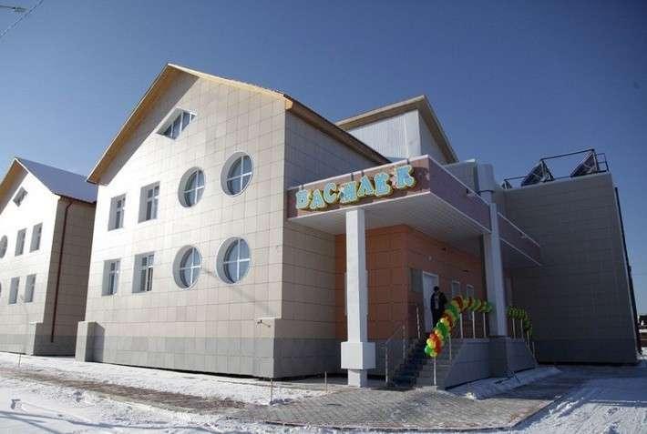 В Якутии открыт первый в регионе энергоэффективный детский сад