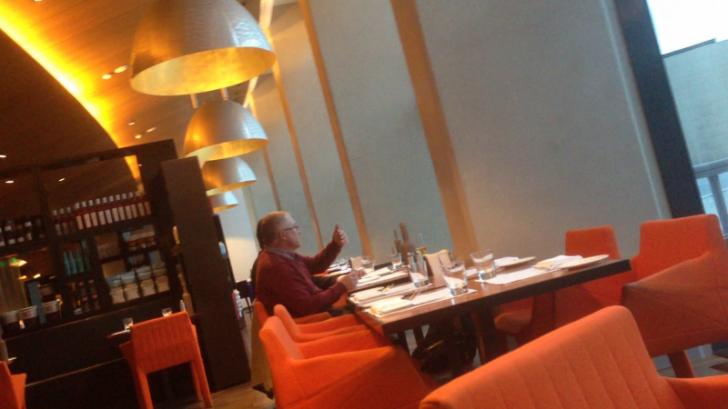 Встреча сотрудницы Госдепа США Кейтлин Кавалек с уральскими бизнесменами