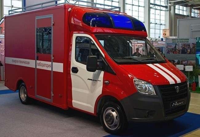 «Группа ГАЗ» впервые представляет аварийно-спасательные и пожарные автомобили «ГАЗель NEXT»