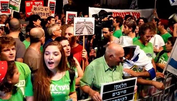 В Тель-Авиве арабы потребовали отставки правительства Нетаньяху