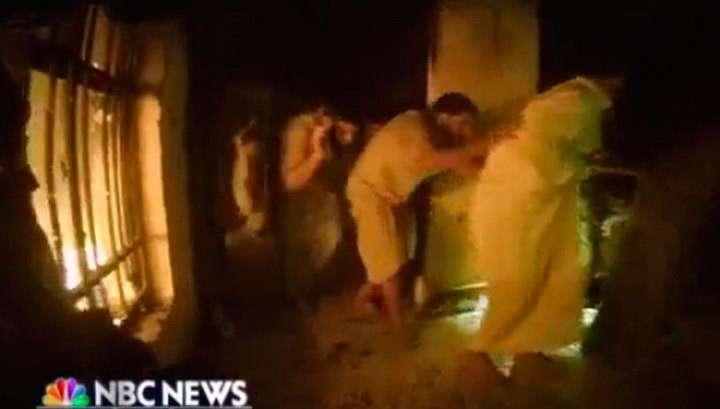 В Сети появилось видео операции спецназа США против ИГИЛ в Ираке