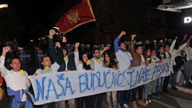 Маленькая, но гордая Черногория восстала против Запада