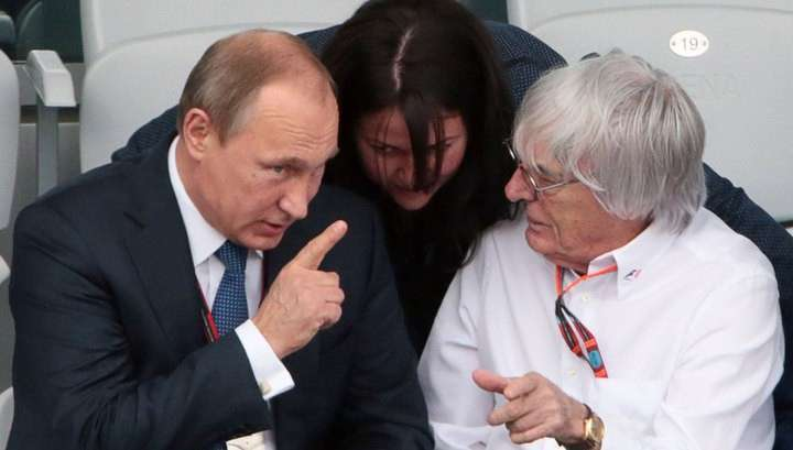 Глава «Формулы-1» Берни Экклстоун позвал Путина править всей Европой