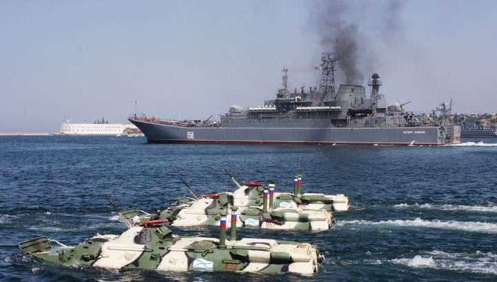 Сирийский экспресс: российский десантный корабль прошёл через Босфор