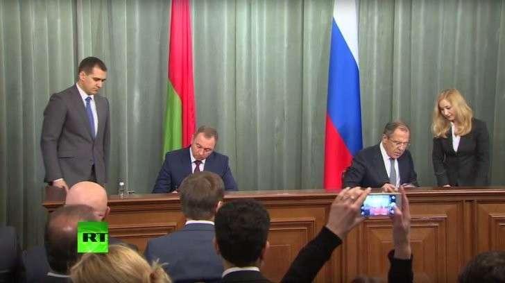 Совместная пресс-конференция глав МИД России и Белоруссии — прямая трансляция