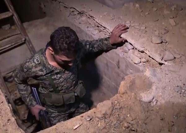 «Тоннельная война»: СА сражается с ИГИЛ в подземных лабиринтах Дамаска