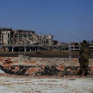 ОБСЕ отмечает возрастание боевой активности в районе аэропорта Донецка